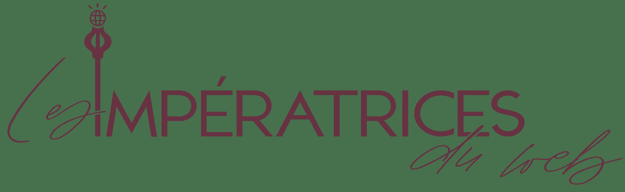 Logo_LesImpératricesduWeb_mauve